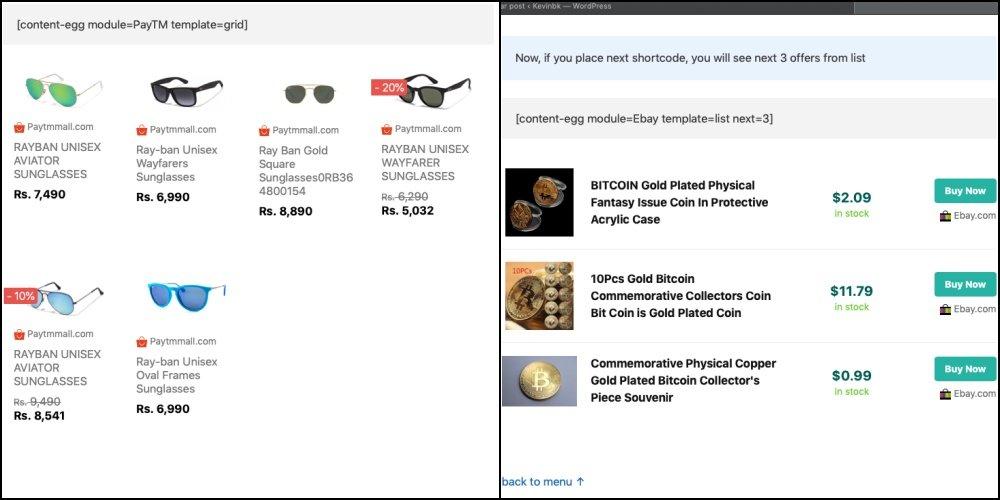 Content Egg - O melhor plugin wordpress para afiliados 1