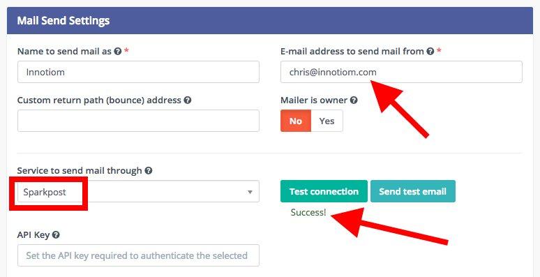 Mautic - pare de pagar por e-mail marketing - mautic sparkpost