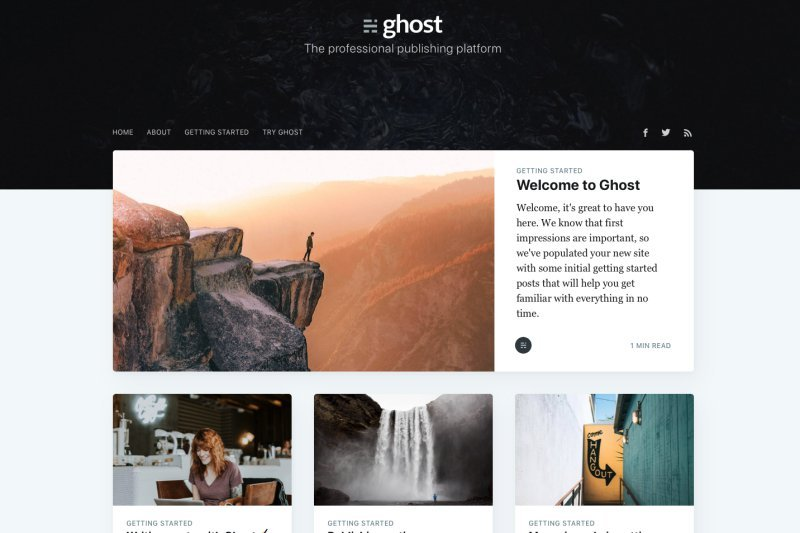 Ghost Blog CMS - Alternativa Matadora do WordPress