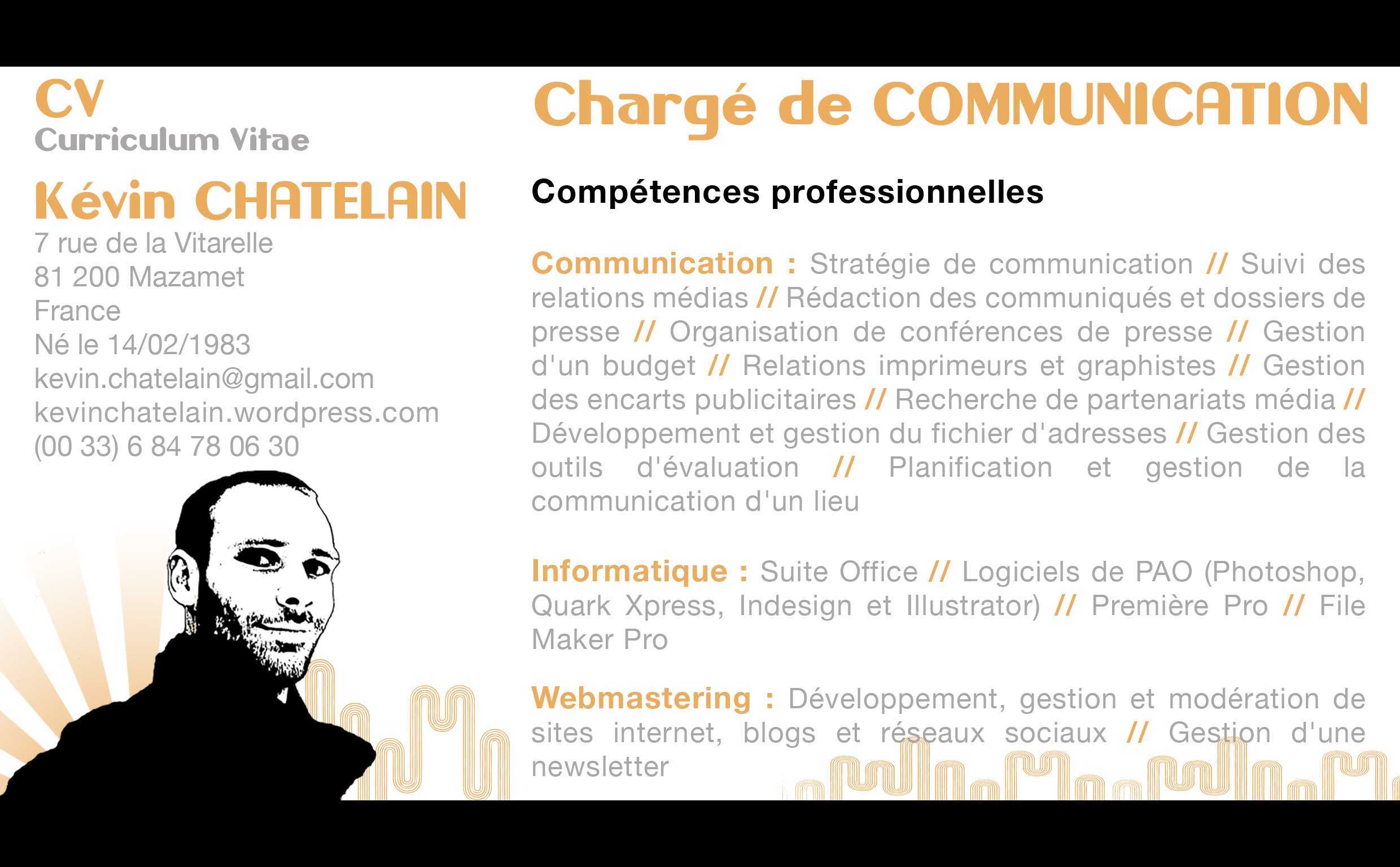 competence cv suite office