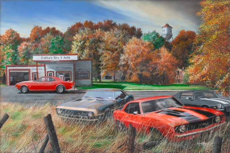 Car Workshop Wallpapers Quot Herding For Sturgis Quot Limited Editions All Artwork