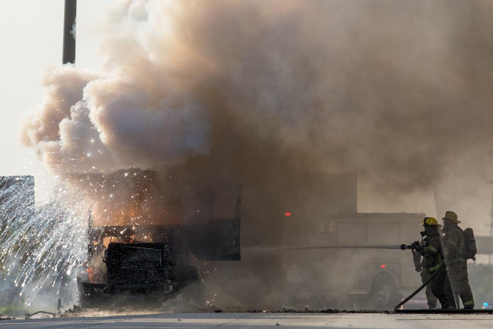 Truck fire 4