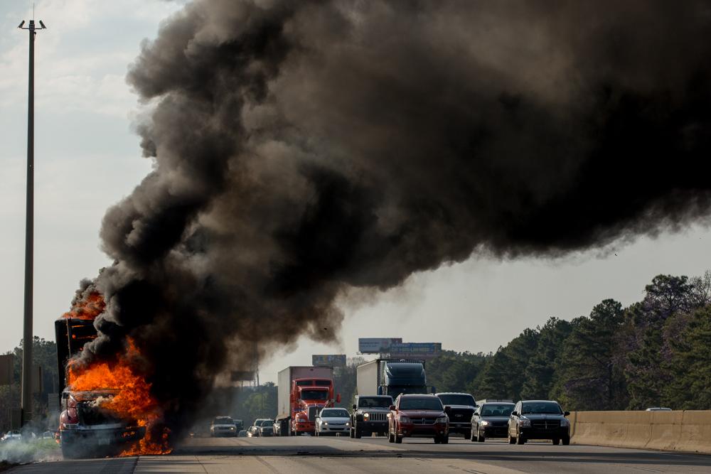 Truck fire 5