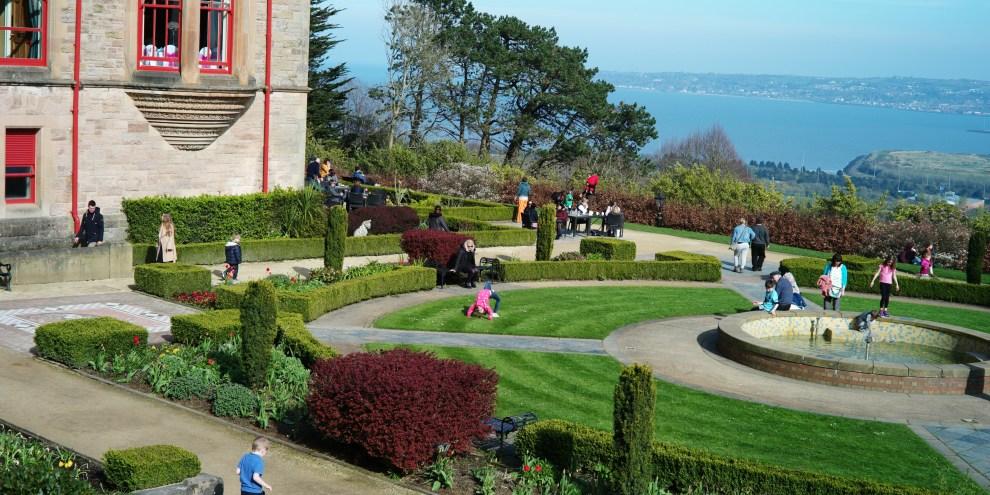 Belfast Castle gardens (Seven photo's).
