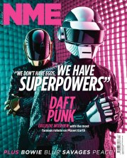 Daft Punk // NME: https://kevinegperry.com/2013/05/14/daft-punk-interview-we-dont-have-egos-we-have-superpowers/