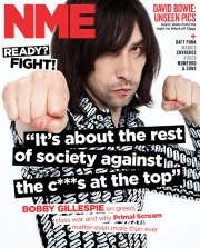 Primal Scream // NME: https://kevinegperry.com/2013/07/09/bobby-gillespie-its-about-the-rest-of-society-against-the-cunts-at-the-top/