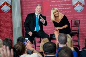 Kevin Fream and Suzanne Somers