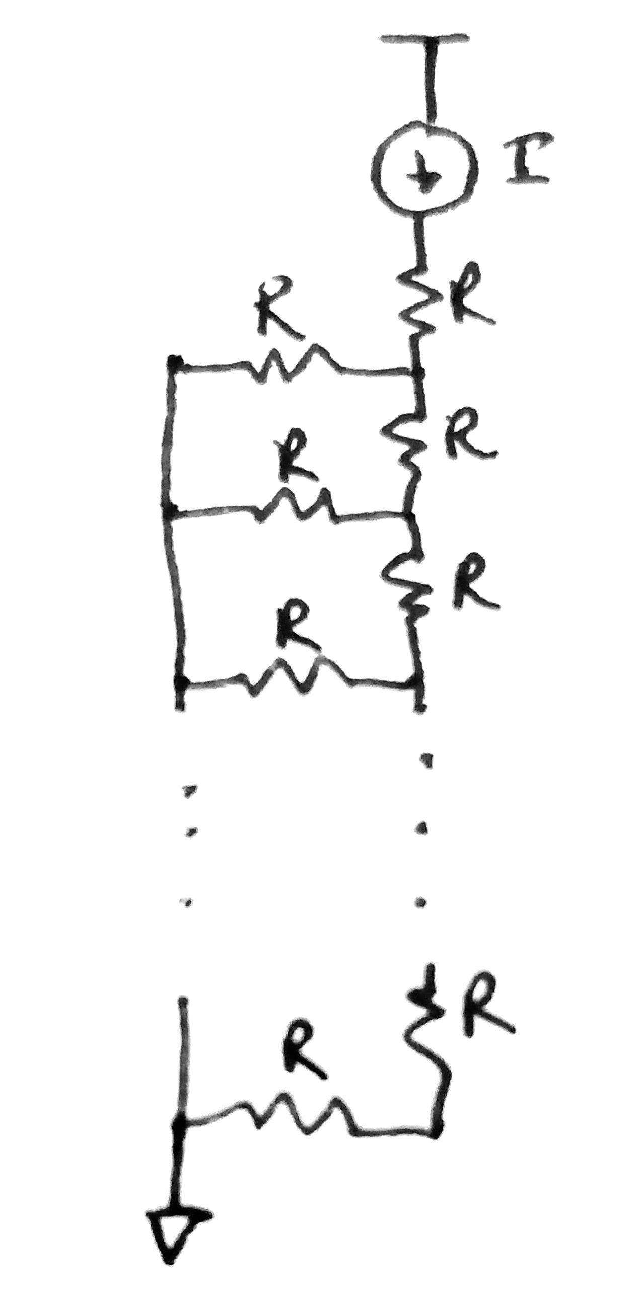Fibonacci Resistor Network