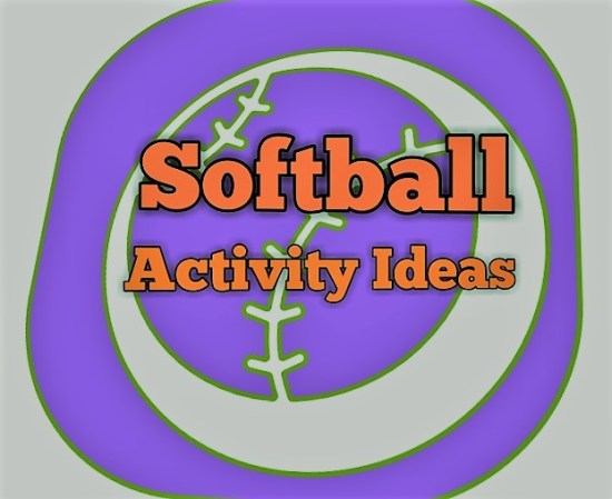 softball activity ideas cover