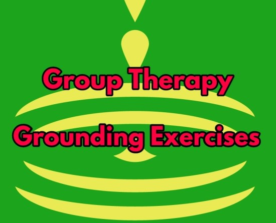 group therapy grounding exercises title image