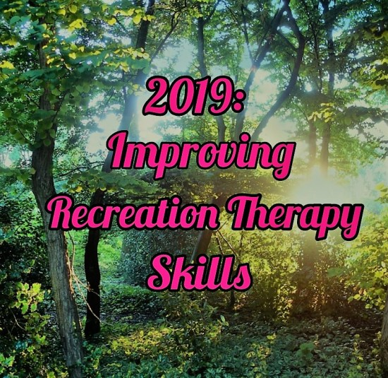 Recreation Therapy skills title image