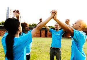 image of a team succeeding