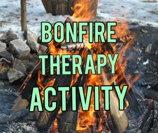 bonfire therapy activity title image