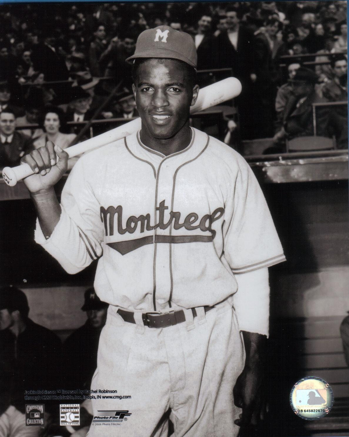New Photos Of Jackie Robinson With The Montreal Royals