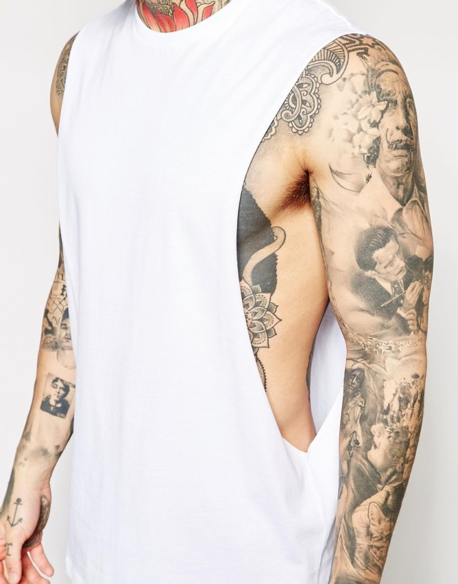 SLEEVELESS T-SHIRT by ASOS