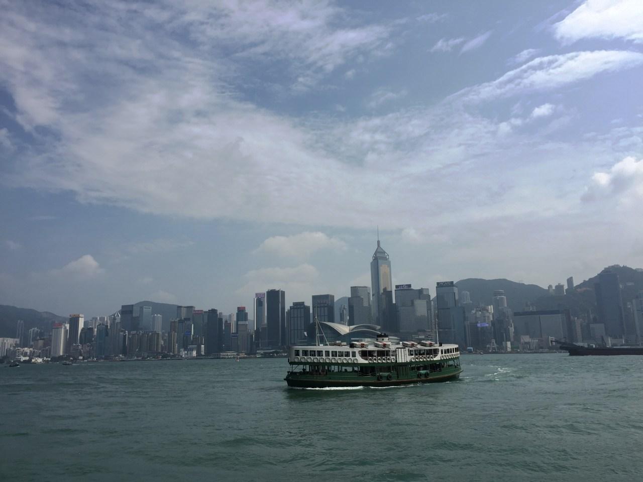 香港 #AlreadyTomorowInHongKong – Adventuring without a blue box-TARDIS | it's been a while on a Star Ferry Photographer @KevinJamesNg