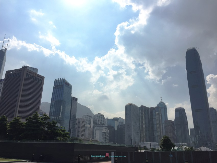 The Hong Kong Central landscape is like the China's Grand Canyon in the Hubei Province........