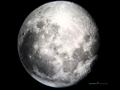 The moon Luna as she veils her terminator towards the New moon progressively with the Jade Rabbit also the Maiden..