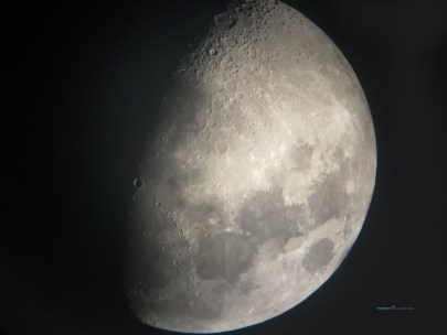 heading towards the full moon with sixty percent waxing gibbous....