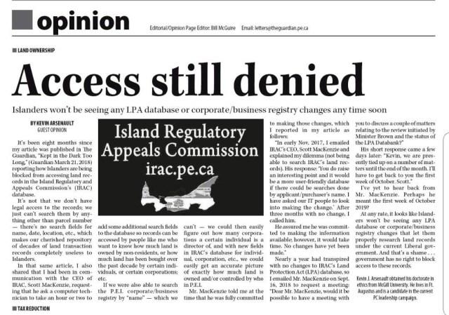 Access Still Denied