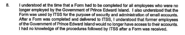Ghiz Affidavit Paragraph 8