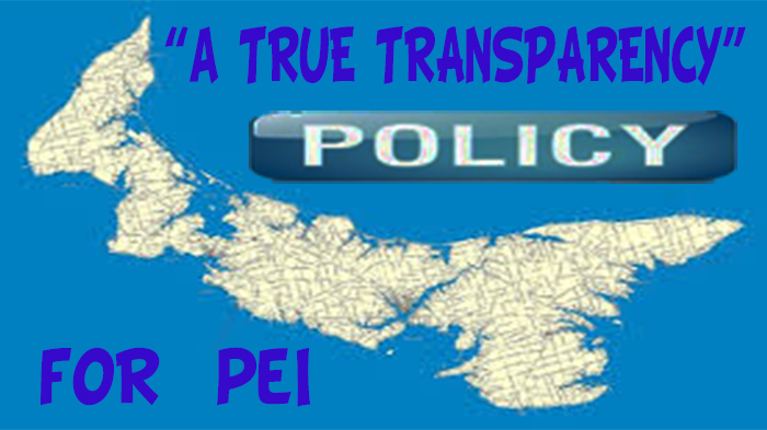 True Transparency Policy