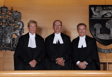 Appeal Court Judges
