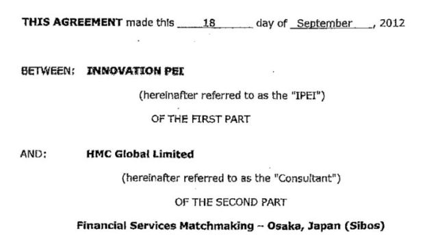 Contract september 18