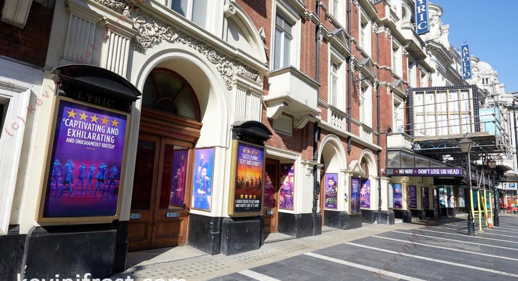 Lyric Theatre Shaftesbury Avenue