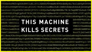 Pic of This Machine Kills Secrets: How WikiLeakers, Cypherpunks, and Hacktivists Aim to Free the World's Information