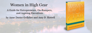 Pic of book- Women in High Gear: A Guide for Entrepreneurs, On-Rampers, and Aspiring Executives
