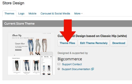 BigCommerce Store Design
