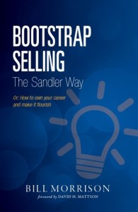 MORRISON BOOTSTRAP SELLING THE SANDLER WAY BOOK COVER