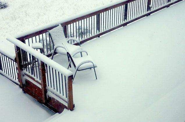 snow in Golden, Colorado