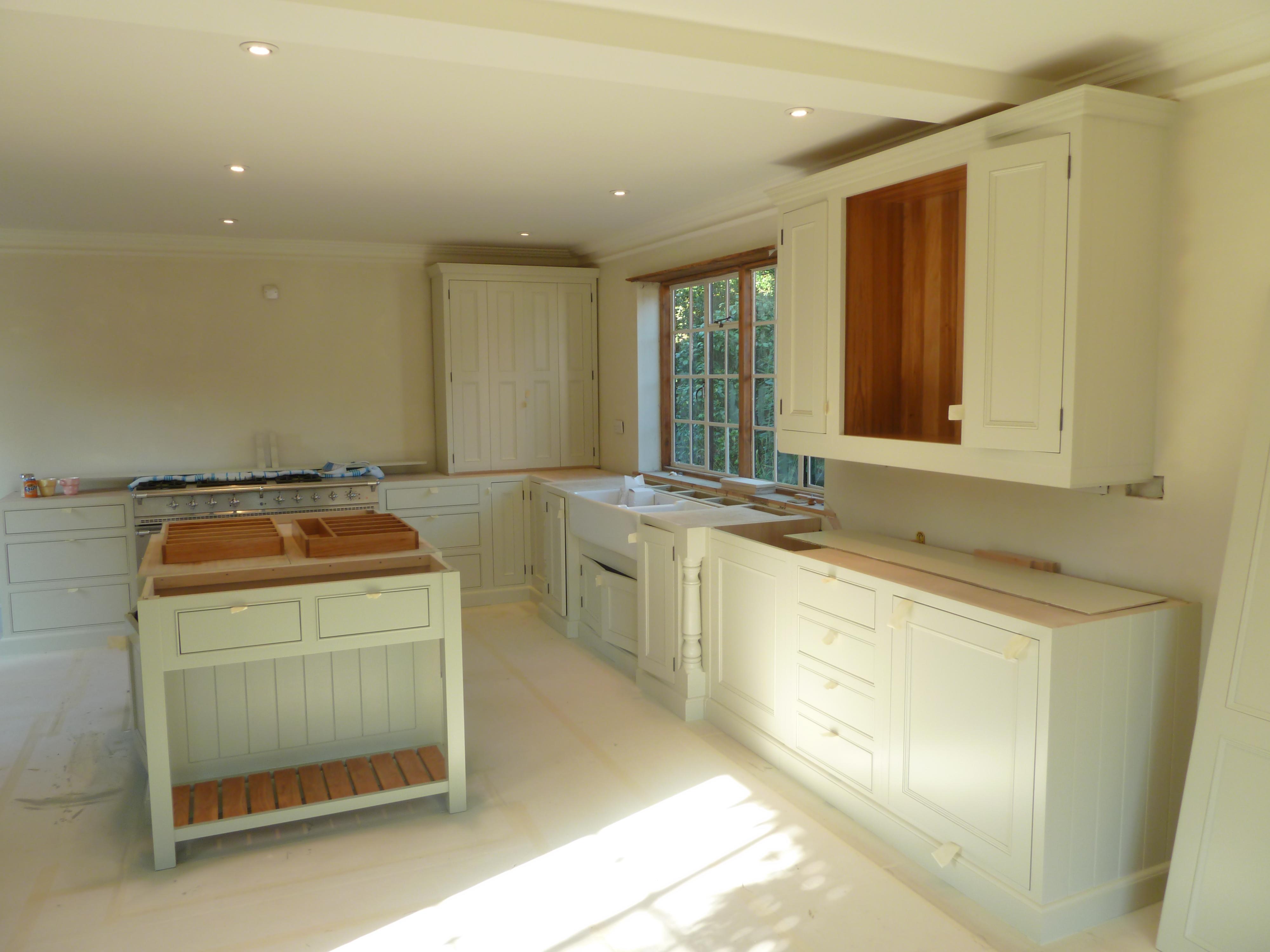 Hand Painted Kitchen Surrey Kevin Mapstone