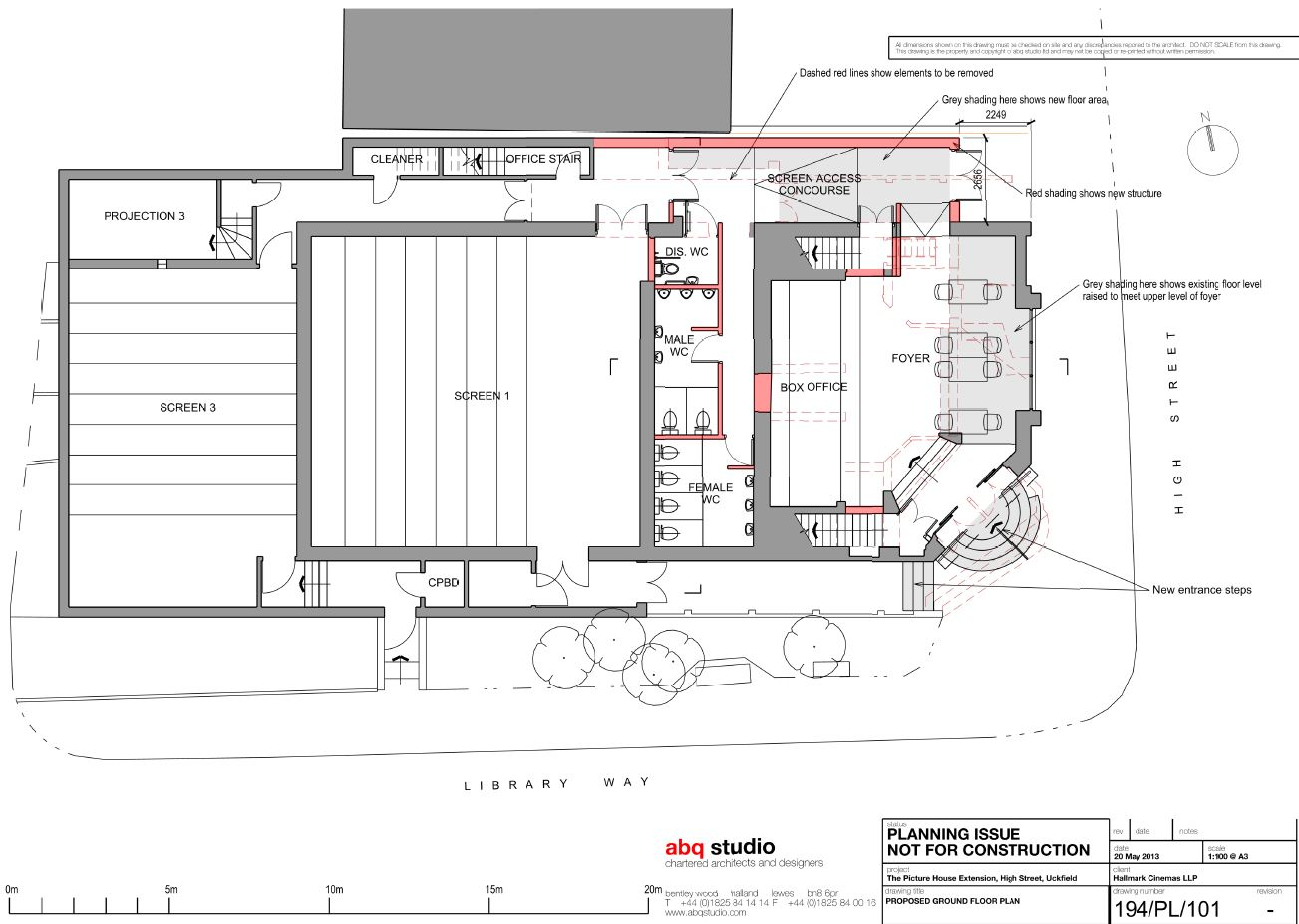 Ground Floor Plans Cinema Owner Confidential