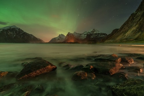 Mystery Ocean Under The Stars