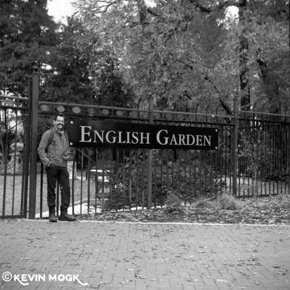 The Entrance to the English Garden at Assiniboine Park Winnipeg Manitoba