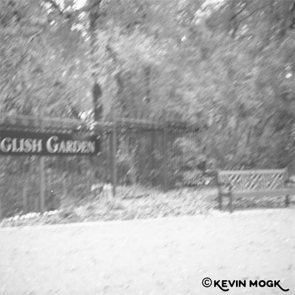 Entrance to English Garden at Assiniboine Park Winnipeg Manitoba