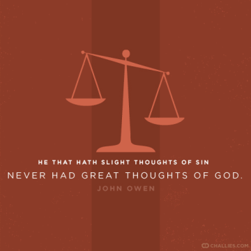 Slight Thoughts of Sin