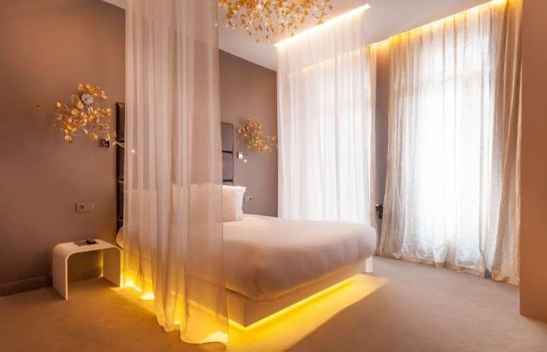 Un hotel romantique dans paris