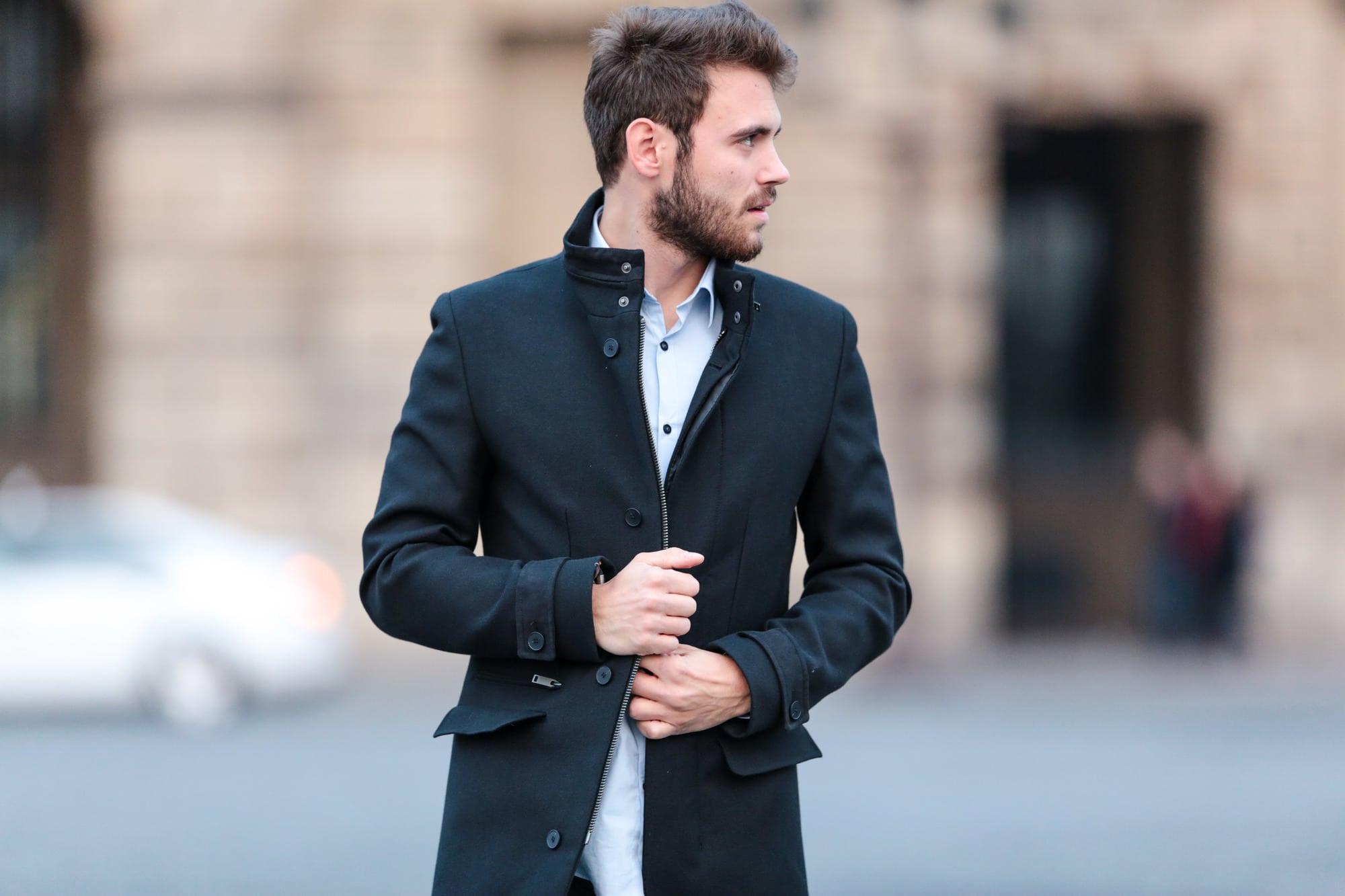 veste classe pour homme