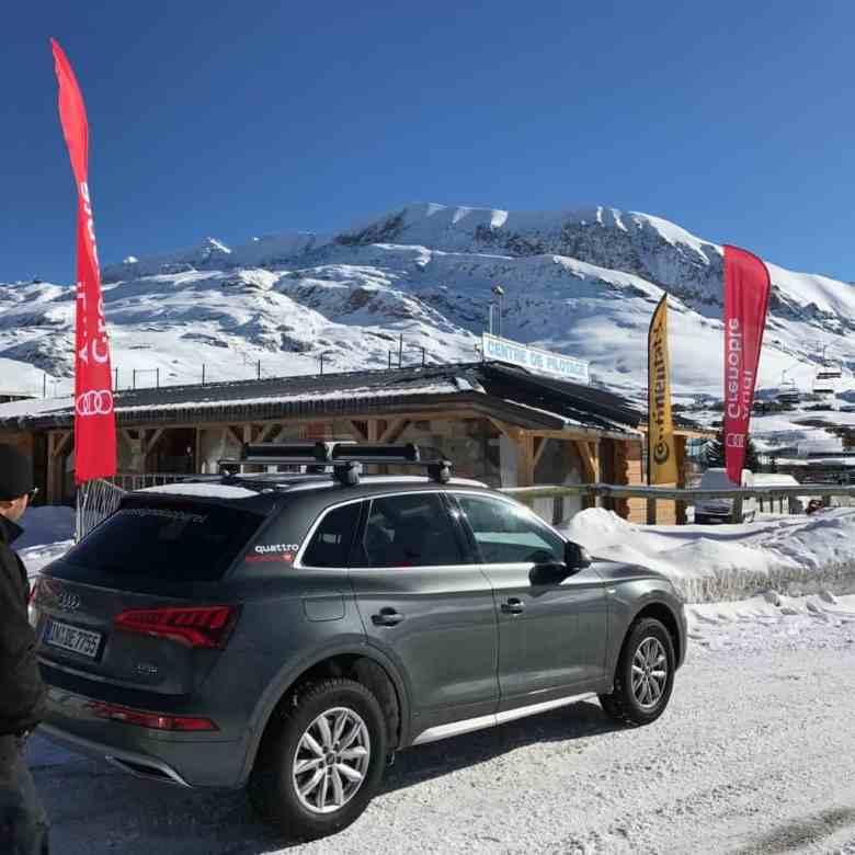 Audi Q5 circuit de l'Alpe d'Huez