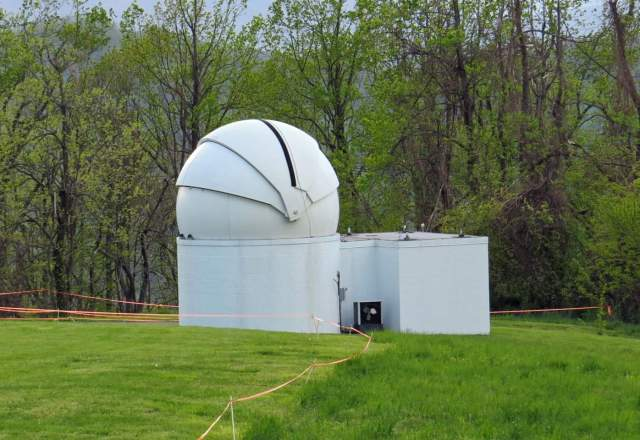 RRRT Dome at Fan Mountain
