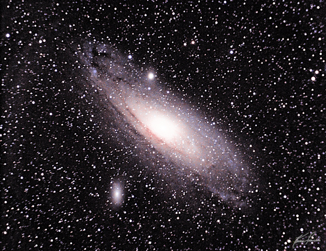 Wide Field Astrophotography and First Light with My Orion ST-80 [Andromeda Galaxy]