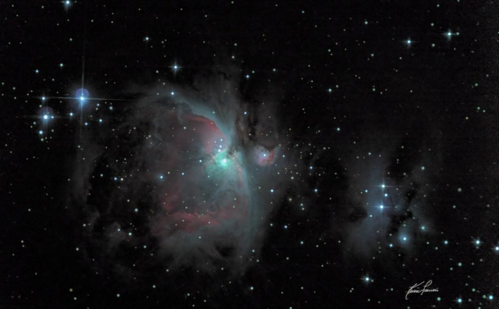 Long Exposure Astrophotography: Orion Nebula