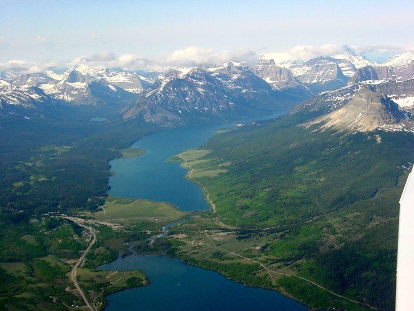 St. Mary's Lake in Glacier National Park.