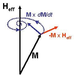 Damped_Magnetization_Precession