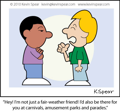 Fair-weather Friends | Kevin H. Spear