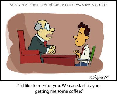 Image result for mentor cartoon